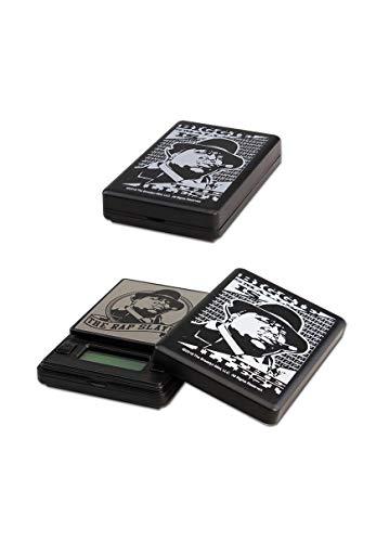 Infinity Scale, Fein-Waagen, Digital-Waage, Taschen-Waage mit Stash-Versteck-Dose | 20 x 100 x 65 mm | Messbereich: 0,01 - 50 g | mit Zählfunktion, Tarnung: Fake-MP3-Player von Notorious Big