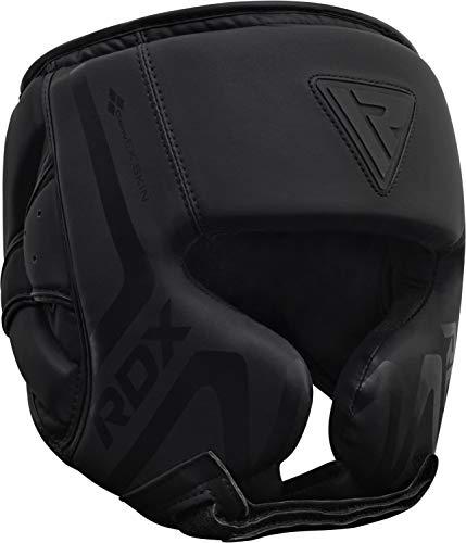 RDX Casco Protector Boxeo Entrenamiento MMA Fighting Headgear | Protector de Cara y Orejas de Muay Thai...