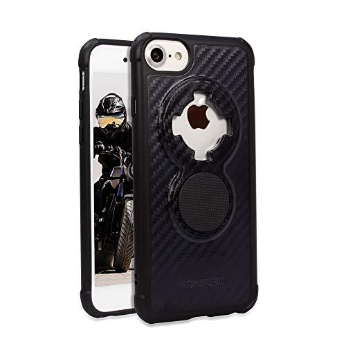 Oferta de Rokform - Funda magnética para iPhone SE (2ª generación)/8/7/6 con Soporte de Bloqueo de Giro, Serie de Soporte magnético para teléfono móvil Delgado (Negro)