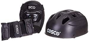 Cosco 4 in 1 Protective Kit, Junior (Black)
