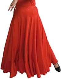 Amazon.fr   jupe flamenco - Rouge   Vêtements 0662941b000