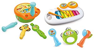 Smoby Toys, 110501, Cotoons Coffret Musical, 7Instruments