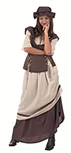 Limit Sport - Disfraz de tabernera medieval Laia, para adultos, talla S (MA764)
