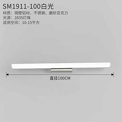 YU-K Modernos apliques luz espejo no se empaña vanidad