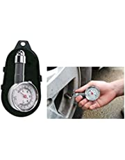 PSA Metal Body Tyre Pressure Gauge Comes with Release Button