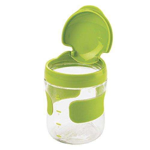 OXO 6129500–Boîte à goûter, 200ml, couleur vert