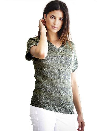 Heine - Best Connections Damen-Pullover Streifen-Pullover Mehrfarbig Größe 40/42