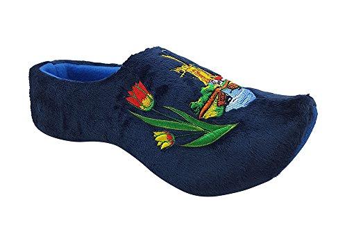 Zapatillas hombre holandeses azul 45-47