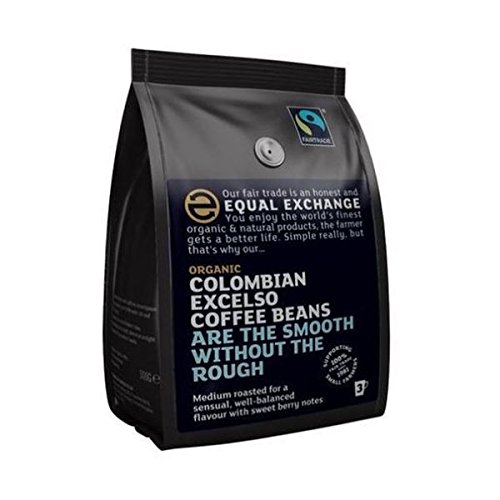 Equal Exchange Org FT Columbian Coffee Beans 227g 41FP39VE6NL