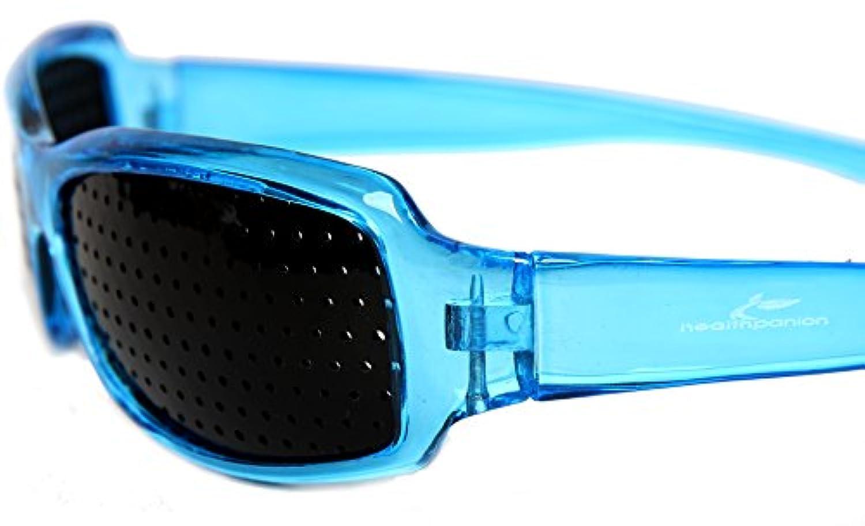 42a82eead4618 HealthPanion 1 Ensemble de Lunettes de Repos à Sténopé - (bleu)(AH ...