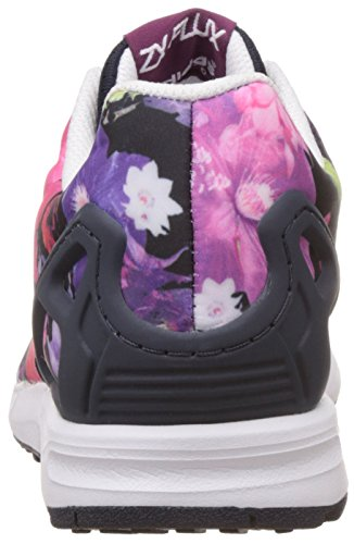 adidas Zx Flux, Baskets Basses Mixte Enfant solid magenta/legend ink/ftwr white