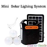 Pick Ur Needs Rock Light Emergency Portable Inverter with 3 Individual 6 Volt