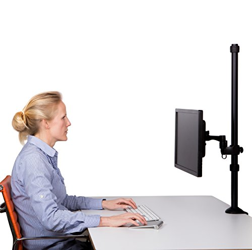 80cm Monitor Stand Tall Monitor Mount Ezy Standing Desk Long