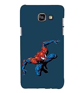 EPICCASE Spiderman Mobile Back Case Cover For Samsung Galaxy A5 (2016) (Designer Case)