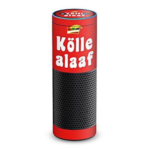 amazon Echo Folie Skin Sticker aus Vinyl-Folie Aufkleber Köln Karneval (Ideen Thema Karneval)