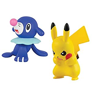 Pokemon T19175 Action Pokémon Figur, Gelb/Blau