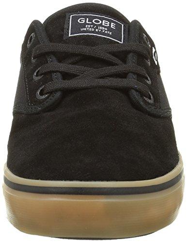 Globe Herren Motley Sneakers Schwarz (black/black/gum)