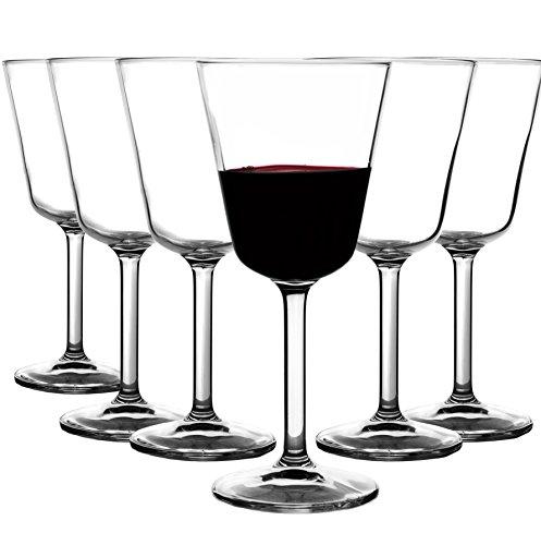 Libbey Markengläser 12er Set - Hochwertige Rotweingläser Weinglas Rotweinglas höhe 17,6cm -...