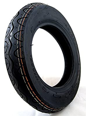 90/80-8 Black Mobility Scooter Tyre fits Drive Royale 4 Front Wheel