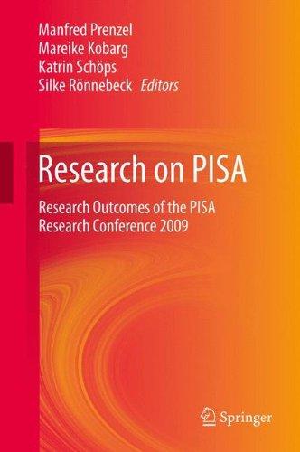 Preisvergleich Produktbild Research on PISA: Research Outcomes of the PISA Research Conference 2009