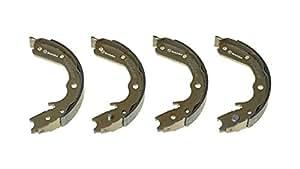 Brembo S59527 Bremsbacken für Handbremsen, Anzahl 4