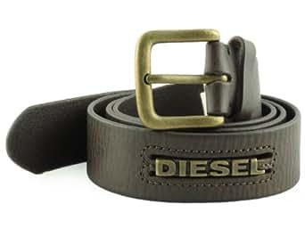 Diesel - Ceinture Diesel Homme - Blowbelt_Marronfonce - Taille : 105