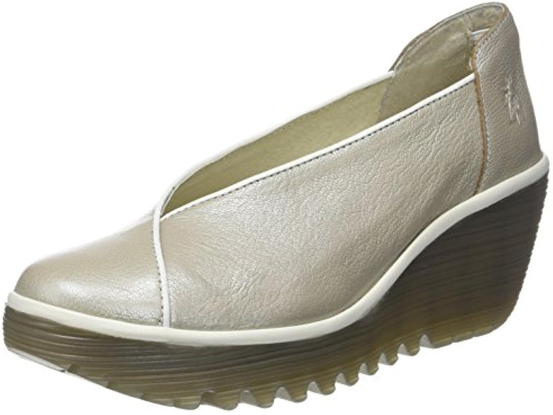 Fly London Yuca839fly, Zapatos de Tacón con Punta Cerrada para Mujer