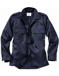 Surplus Hombres US Camisa Manga Larga Navy tamaño XXL