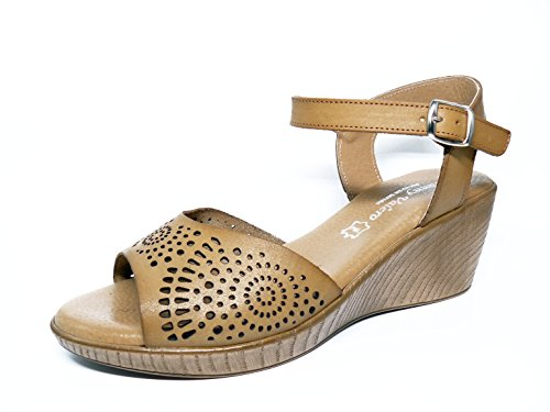 Selquir , sandales femme Sable