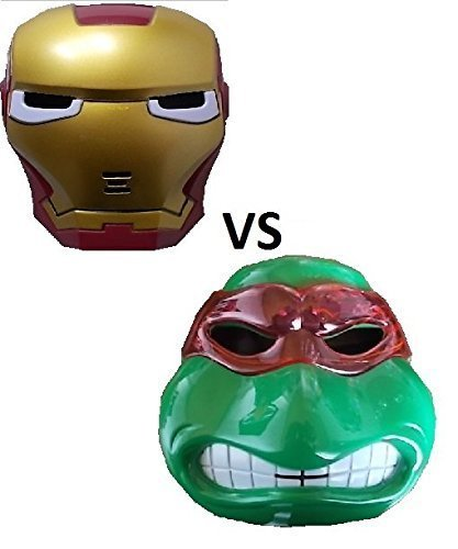 Stück neue Ninja Turtle und neue Iron Maske -