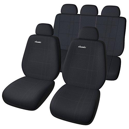 Auto Universal Sitzbezug Set in Schwarz / Sitzbezüge / Sitzschoner / Schonbezüge