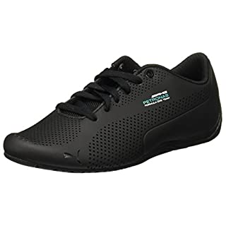 Puma Mercedes AMG Petronas Drift Cat Ultra Sneaker, Black-dark Shadow-black, 43 EU