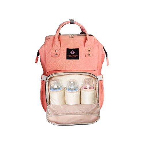 Wickeltasche multifunktional, wasserfest Reise Rucksack Windel Tasche für Babypflege, große Kapazität, modern und langlebig