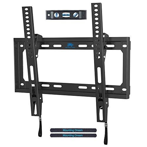 Mounting Dream MD2268-MK-02 Soporte de Pared TV Soporte de Inclinación para la Mayoría 26 – 55 Pulgadas LED, LCD y Plasma televisores de hasta VESA 400x400 mm y 40kg
