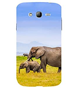 printtech Nature Animal Elephant Back Case Cover for Samsung Galaxy Grand Neo Plus / Samsung Galaxy Grand Neo Plus i9060i