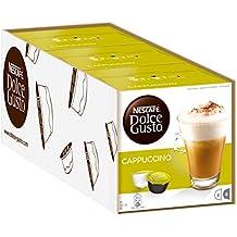 Nescafé Dolce Gusto, Cápsulas de café (Cappuccino) - 3 de 16 cápsulas (