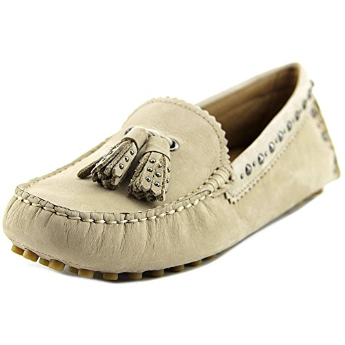 Coach Norfolk Cuir Mocassin Mink Grey