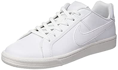 Nike Unisex Kids  Court Royale (Gs) Tennis Shoes 833535-102  Amazon ... 4a742a2127e9e