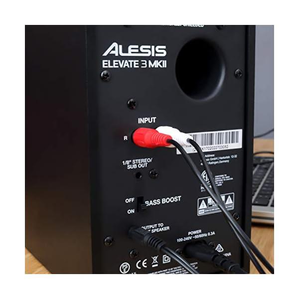 Alesis Elevate Monitor da Scrivania Biamplificate