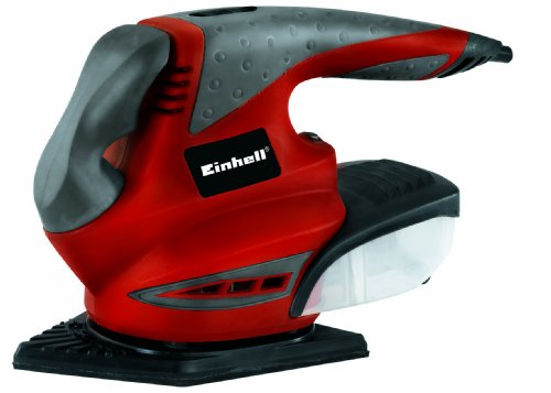 Einhell RT-XS 28 280W Multi - Lijadora (Multilijadora, Lijadora manual, Negro, Rojo, Bolsa para el polvo, Velcro, 10000 RPM)