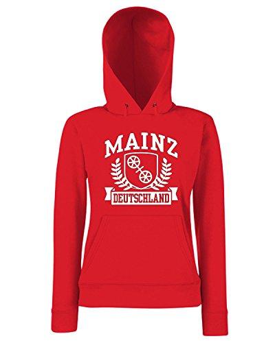 T-Shirtshock - Sweats a capuche Femme TSTEM0236 mainz deutschland (3) Rouge