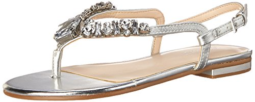 Nine West Zui synthétique Robe Sandal silver