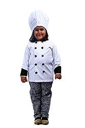 Chef community helper fancy dress costume for kids (4-6 yrs)