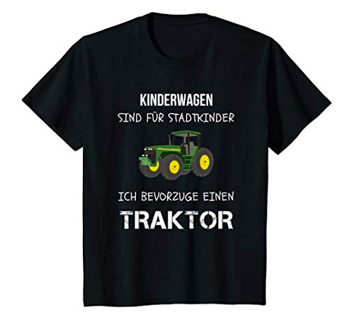 Kinder Landwirt Traktor fahren Trecker Jungen Geburtstag Shirt