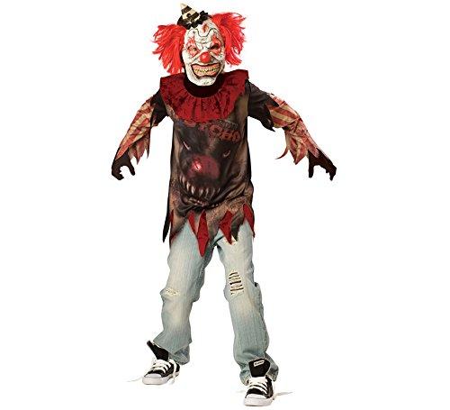 Show Internationales Kostüm Party - Amscan Jungen Side Show Pscho Verkleidungen Kostüm Alter 12-14 Jahre, ideal für Halloween!