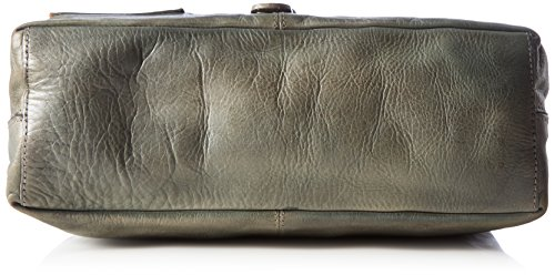 Taschendieb Wien borsa a mano pelle 37 cm Grigio (Grau)