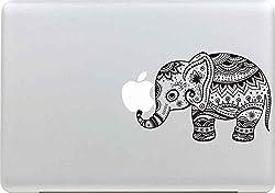 Macbook Sticker, Stillshine Unique Elegant Design Vinyl Decal Skin Sticker For Macbook Pro Air 13 Inch Portable Computer Apple Laptop (Elephant)