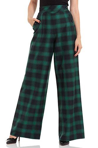 Voodoo Vixen -  Pantaloni  - Donna verde XS