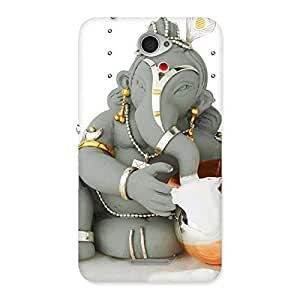 Cute Ganesha Ji Multicolor Back Case Cover for Sony Xperia E4