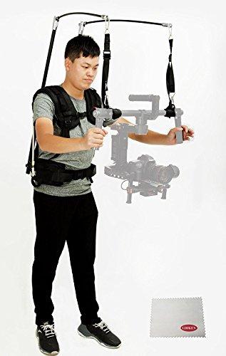 Lioken Laing V10support professionnel Gilet stabilisateur Système 6–13kg de charge pour DJI Ronin et DSLR 3Axis Handheld Gimbal Stabilisateur